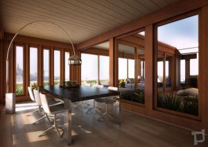 rendering1-soggiorno attico