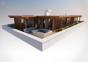 rendering6-attico esterno legno