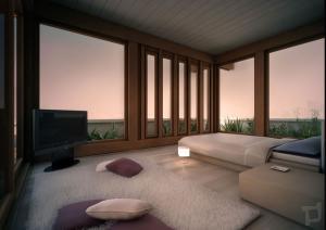 rendering7-attico camra letto