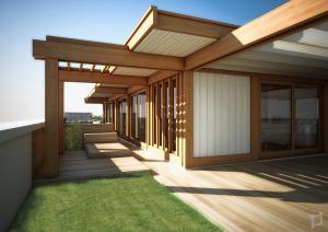 rendering8-attico legno lamellare