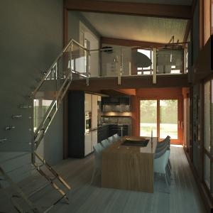 veranda su due livelli-interno1-arredi