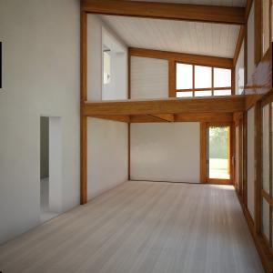 veranda su due livelli-interno1