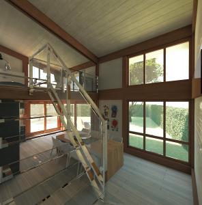 veranda su due livelli-interno2-arredi